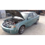 Used 2002 Mazda Protege Parts Car - Blue with tan interior, 4 cylinder engine, automatic transmission