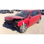 Used 2008 Kia Spectra Parts Car - Red with black interior, 4 cylinder engine, automatic transmission