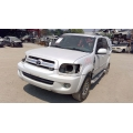 Used 2005 Toyota Sequoia Parts Car - White with grey interior, 4.7L 8 cylinder engine, automatic transmission