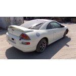Used 2001 Mitsubishi Eclipse Parts Car - White with black interior, 6 cylinder, manual transmission
