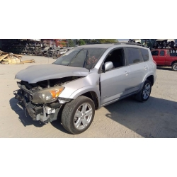 Used 2007 Toyota RAV4 Parts Car - Silver with black interior, 6 cylinder engine, automatic transmission