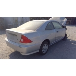 Used 2005 Honda Civic DX Parts Car - Silver with black interior, 4 cylinder engine, 5 speed manual transmission