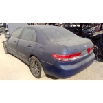 Used 2003 Honda Accord Parts Car - Blue with grey interior, 4 cylinder, automatic transmission