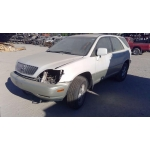 Used 1999 Lexus RX300 Parts Car - White with tan interior, 6 cylinder engine, automatic transmission