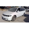 Used 2001 Honda Odyssey Parts Car - White with grey interior, 6 cylinder engine, automatic transmission