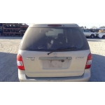 Used 2001 Mazda MPV Parts Car - Gold with brown interior, 6 cylinder engine, automatic transmission