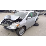 Used 2015 Nissan Versa Note Parts Car - Silver with black interior, 4 cyl engine, automatic transmission