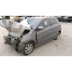 Used 2015 Mitsubishi Mirage Parts Car - Silver with black interior, 4 cylinder, automatic transmission