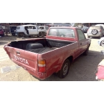 Used 1993 Toyota Pickup Parts Car - Burgundy with grey interior, 22RE engine, 5 speed transmission