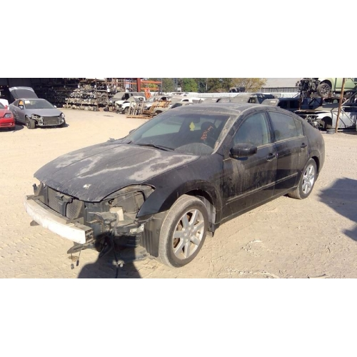 Used 2005 Nissan Maxima Parts Car Black With Black Interior 6 Cyl