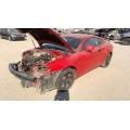 Used 2003 Hyundai Tiburon Parts Car - Red with black interior, 6 cylinder, manual transmission