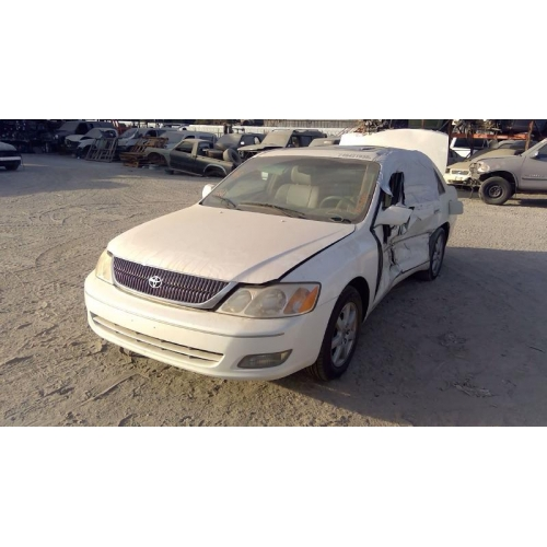 used 2000 toyota avalon xls parts car white with tan interior 6 cylinder engine automatic transmission fresno tap recycling