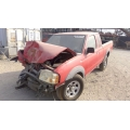 Used 2004 Nissan Frontier Parts Car - Red with grey interior, 4 cyl engine, automatic transmission