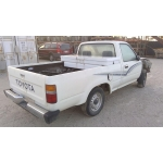 Used 1989 Toyota Pickup Parts Car - White with grey interior, 4 cylinder engine, automatic transmission