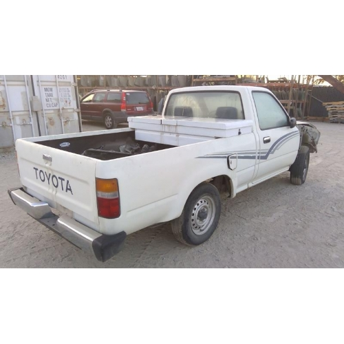 Toyota Truck Aftermarket Parts: Used 1989 Toyota Pickup Parts Car