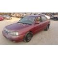 Used 2002 Hyundai Elantra Parts Car - Burgundy with tan interior, 4 cylinder, automatic transmission