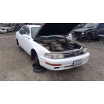 Used 1994 Toyota Camry Parts Car - White with purple interior, 4 cylinder engine, automatic transmission