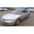 Used 1999 Honda Accord EX Parts Car - Gold with brown interior, 4 cylinder engine, automatic transmission