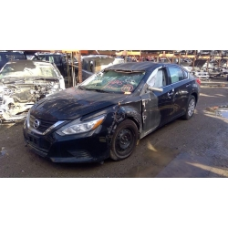 Used 2016 Nissan Altima Parts Car - Black with black interior, 4 cyl engine, automatic transmission