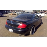 Used 2001 Acura CL Parts Car - Black with grey interior, 6 cylinder, automatic transmission