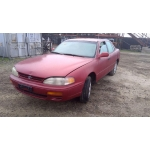 Used 1995 Toyota Camry Parts Car - Red with brown interior, 4 cylinder engine, automatic transmission