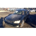 Used 2003 Lexus IS300 Parts Car - Black with tan interior, 6 cylinder engine, automatic transmission