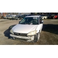Used 2004 Honda Civic LX Parts Car - White with gray interior, 4 cylinder engine, Automatic transmission