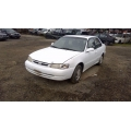 Used 1999 Toyota Corolla Parts Car - White with tan interior, 4 cylinder engine, automatic transmission