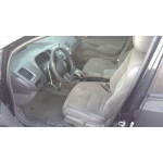 Used 2008 Honda Civic Parts Car - Black with gray interior, 4 cylinder engine, automatic transmission