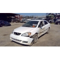 Used 2006 Toyota Corolla Parts Car - White with gray interior, 4 cylinder engine, automatic transmission