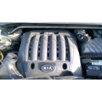 Used 2007 Kia Sportage Parts Car - Green with tan interior, 6cyl engine, automatic AWD transmission