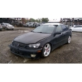 Used 2001 Lexus IS300 Parts Car - Black with black interior, 6 cylinder engine, automatic transmission