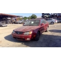 Used 2004 Kia Spectra Parts Car - Burgundy with gray interior, 4 cylinder engine, automatic transmission