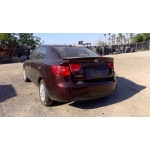 Used 2010 Kia Forte Parts Car - Maroon and maroon interior, 4 cylinder engine, automatic transmission