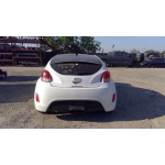 Used 2014 Hyundai Veloster Parts Car - White with red interior, 4 cylinder, automatic transmission
