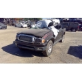 Used 2004 Toyota Tacoma Parts Car - Black with gray interior, double cab, 6 cyl engine, automatic transmission