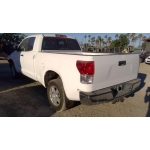 Used 2010 Toyota Tundra Parts Car - White with tan interior, 8 cylinder engine, automatic transmission