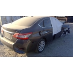 Used 2015 Nissan Sentra Parts Car - Gray with black interior, 4 cyl engine, automatic transmission