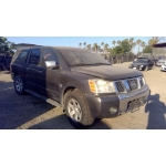 Used 2004 Nissan Titan Parts Car - Gray with black interior, 8 cyl engine, automatic transmission