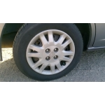 Used 2004 Honda Civic LX Parts Car - Gray with black interior, 4 cylinder engine, automatic transmission