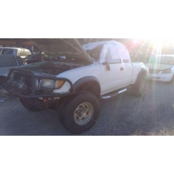 Used 2003 Toyota Tacoma Parts Car - White with tan interior, 6 cyl engine, manual transmission