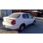 2001 Toyota Echo Parts Car - White with gray interior, 4 cylinder engine, automatic manual transmission