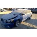 Used 2014 Subaru Impreza Wagon Parts Car - Blue with black interior, 4 cylinder engine, automatic transmission