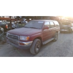 Used 1996 Toyota 4Runner Parts Car - Burgundy with gray interior, 6 cyl engine, automatic transmission