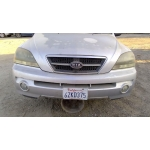 Used 2005 Kia Sorento Parts Car - Silver with grey interior, 6 cylinder engine, automatic transmission
