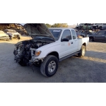 Used 1996 Toyota Tacoma Parts Car - White with gray interior, 6 cyl engine, automatic transmission