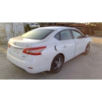 Used 2014 Nissan Sentra SV Parts Car - White with black interior, 4 cyl engine, automatic transmission