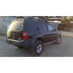 Used 2002 Nissan Xterra Parts Car - Black with grey interior, 6 cyl engine, automatic transmission