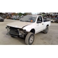Used 2000 Toyota Tacoma Parts Car - White with brown interior, 4 cyl engine, automatic transmission