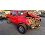 Used 2007 Toyota Tacoma Parts Car - Red with gray interior, 6 cyl engine, automatic transmission